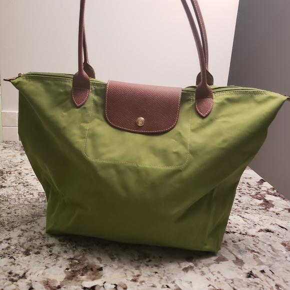 "Longchamp Handbags - Longchamp large nylon bag12W x 7.5""deep x 12"" high"